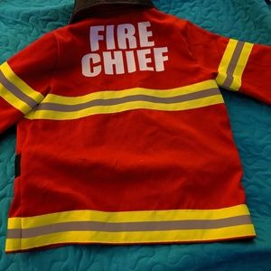 Adorable fire chief jacket